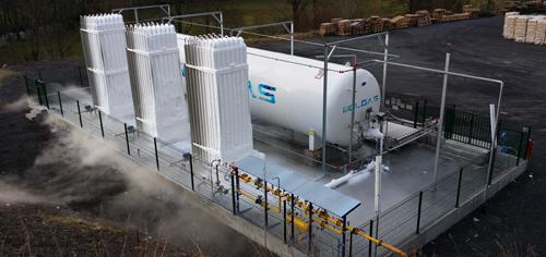 Plantas de gnl transporte gas natural licuado for Gas natural servicios